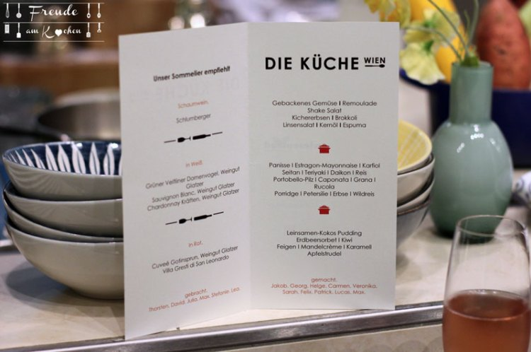 Vegan Pop-Up Cooking im Palais Hansen Kempinski - Freude am Kochen