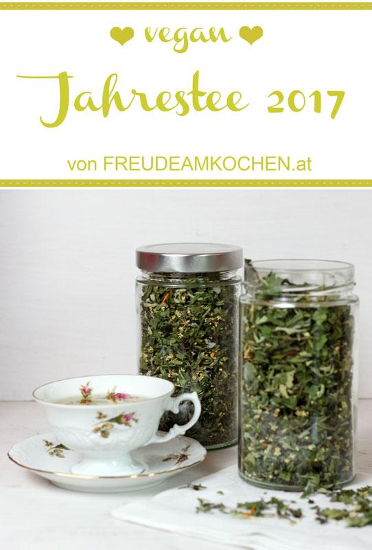 Kräutertee selbermachen - Jahrestee 2017 - Freude am Kochen vegan