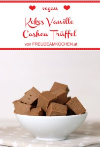 Kokos Vanille Cashew Trüffel zuckerfrei - Freude am Kochen vegan