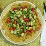 Bärlauch Omelette glutenfrei – 5 Varianten