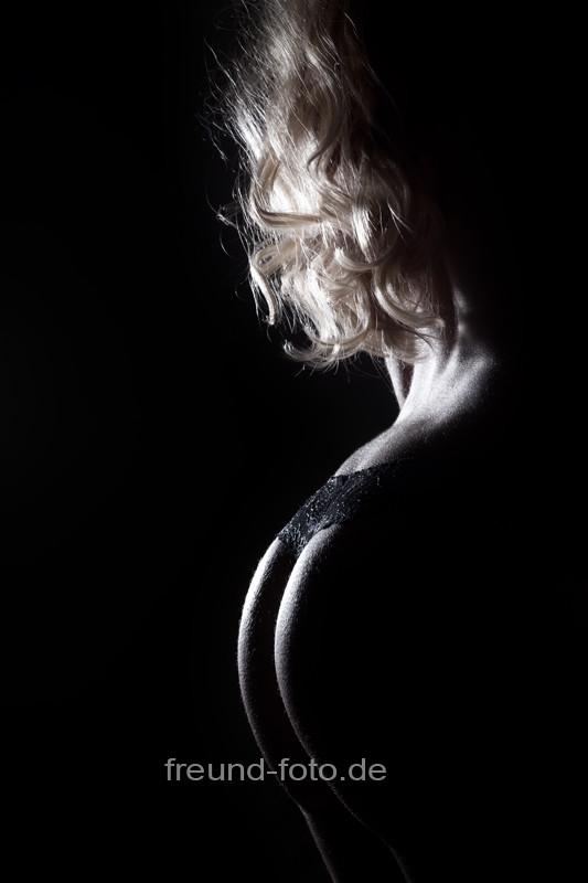 Sexy Hintern Rücken einer Frau