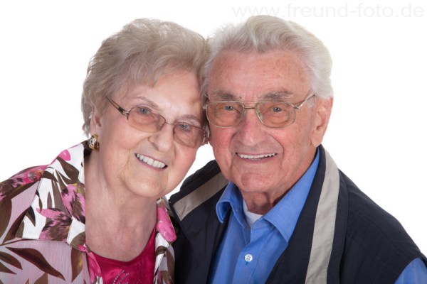 Glückliches Rentner Ehepaar