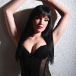 Frau in sexy Unterwäsche bei Akt Shooting in Nürnberg