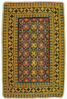 Behang für ein Zeltfenster, Osmanisches Reich, 17. Jh. (Foto: Walter Haberland)