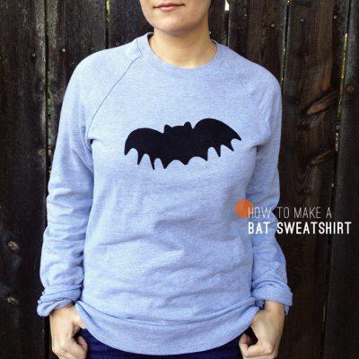 How to Make: A Bat Sweatshirt