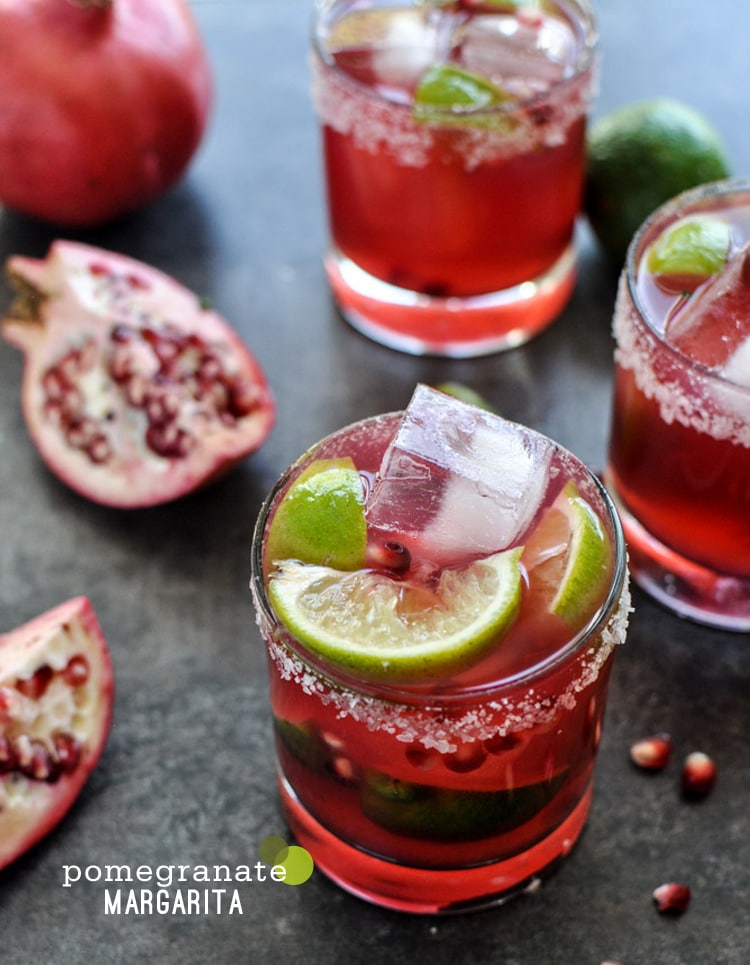 {Cocktail Friday} Pomegranate Margarita