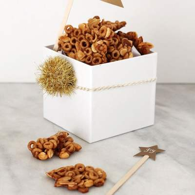 Cereal Maple Nut Brittle