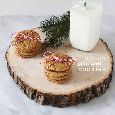 The Best Chewy Ginger Cookies