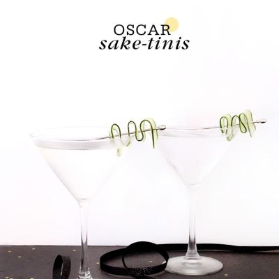 {Cocktail Friday} Oscar Saki-tini