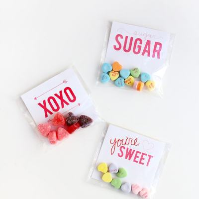 Printable Valentine's Day Candy Grams