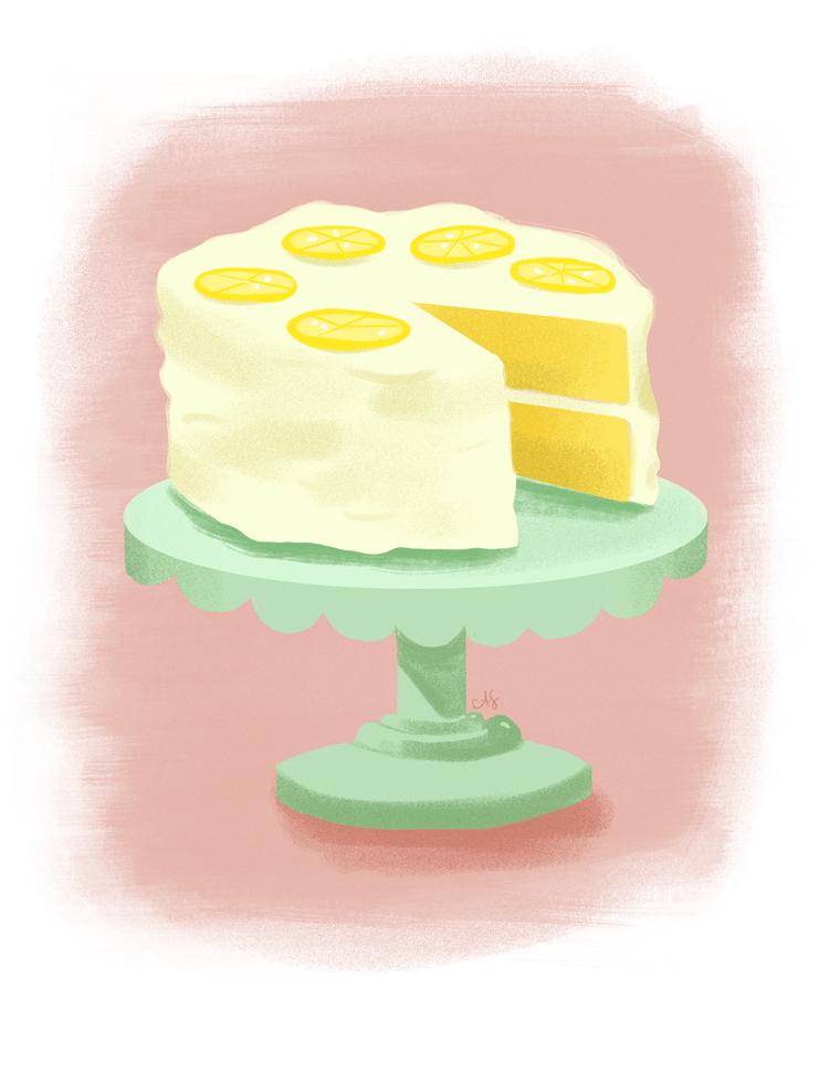 Lemon Cloud Cake