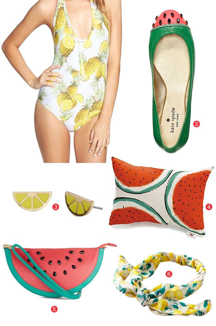 Summer Juicy fruit prints