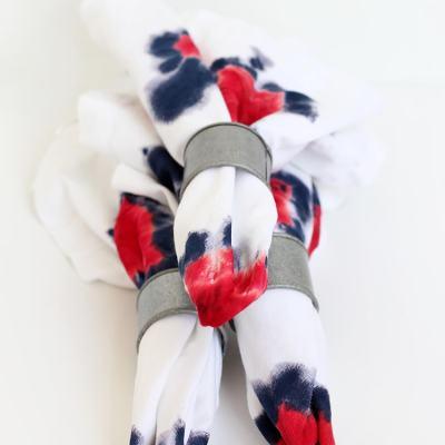 Tie-Dye Firework Napkins