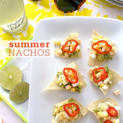 "No-Cook Summer ""Nachos"""