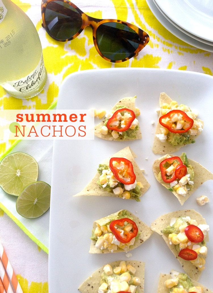 No-Cook Summer Nachos