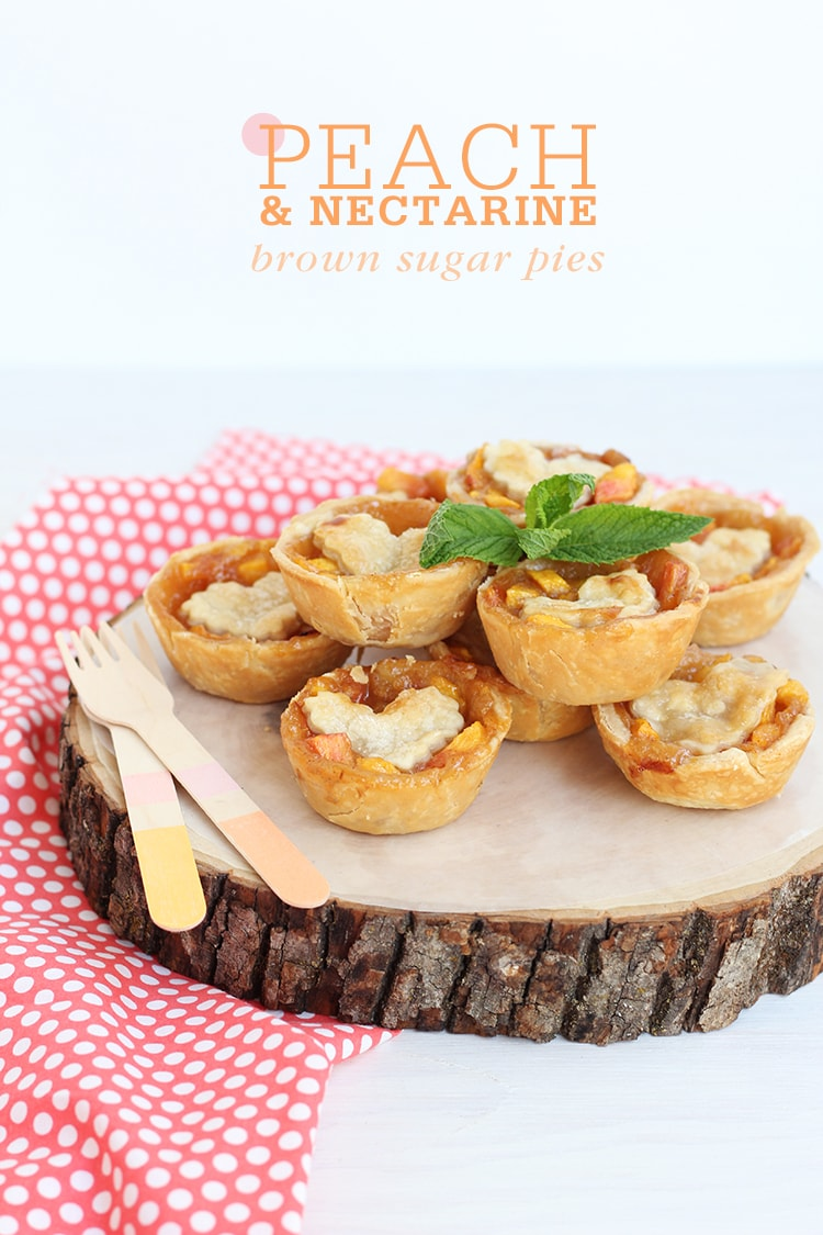Peach and Nectarine Pies