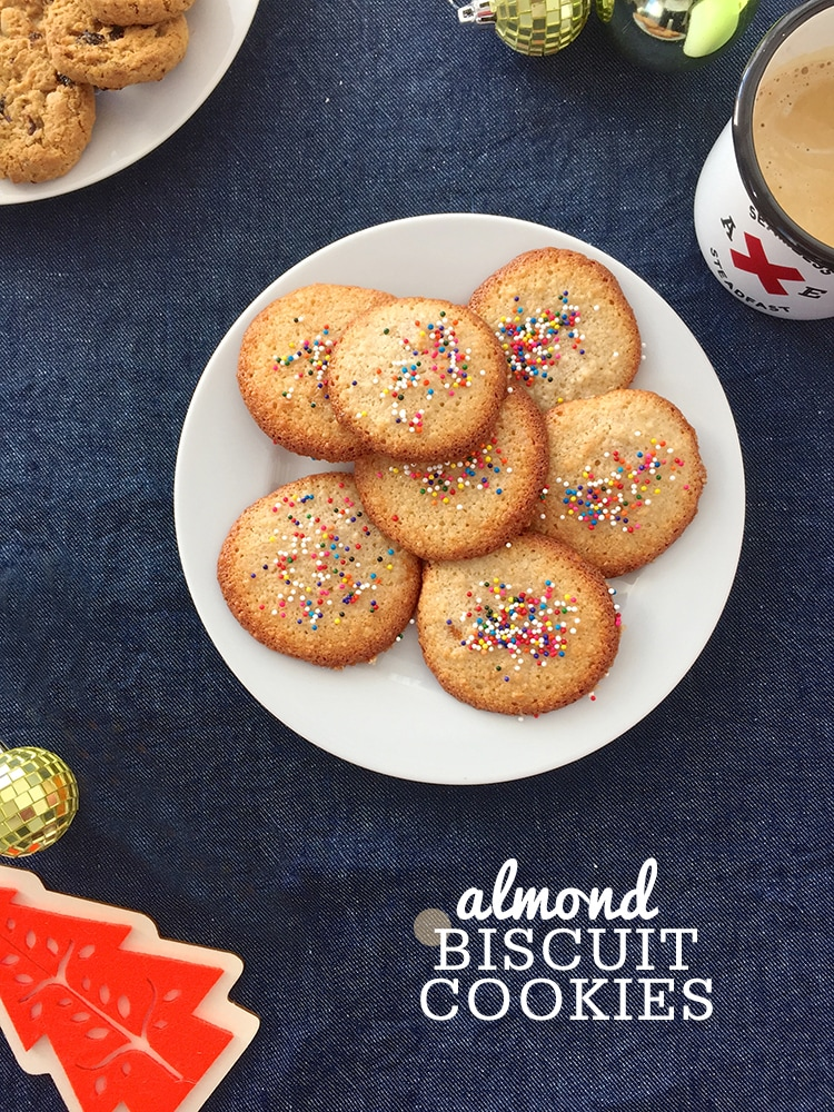 Almond Biscuit Cookies