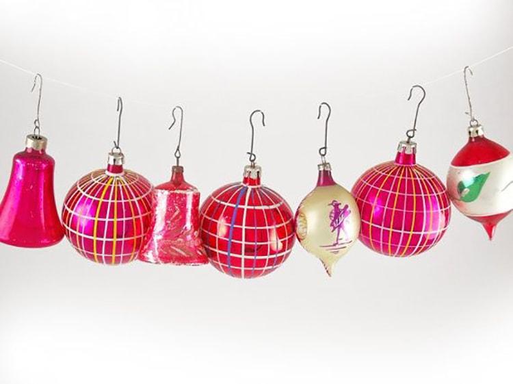 Best Vintage Christmas Ornaments AB78