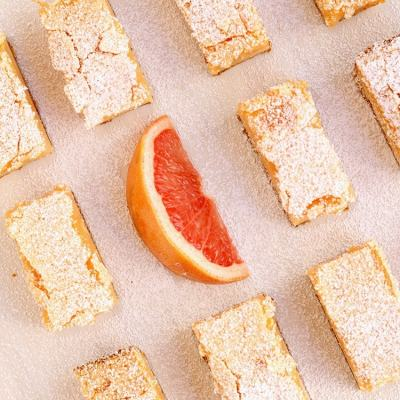 Pink Grapefruit Bars