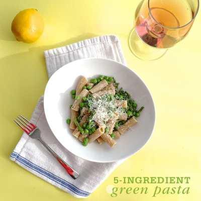 1-Pot Spring Green Pasta