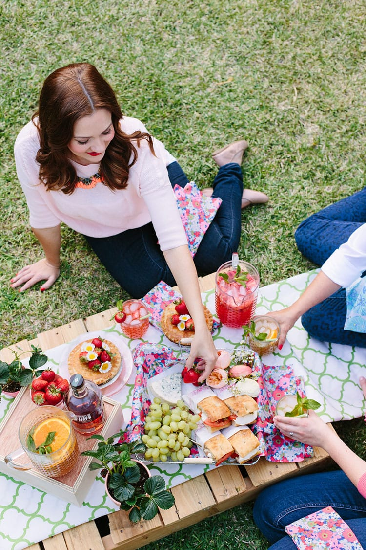 Mother's Day Backyard Picnic