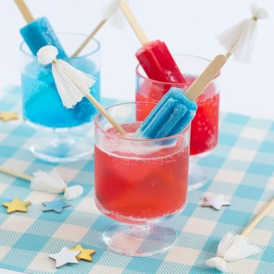 Popsicle Cocktails & Tassel Stir Sticks
