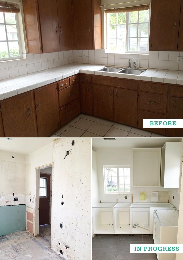 Kitchen Renovation In Progress freutcake fixer upper: kitchen renovation