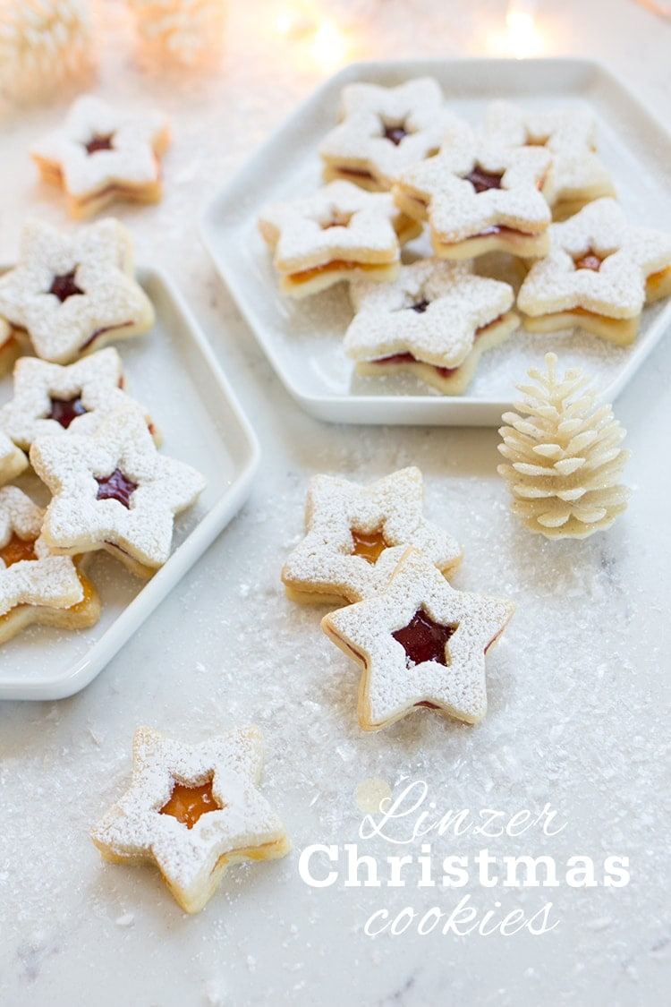 Linzer Christmas Cookies - Freutcake
