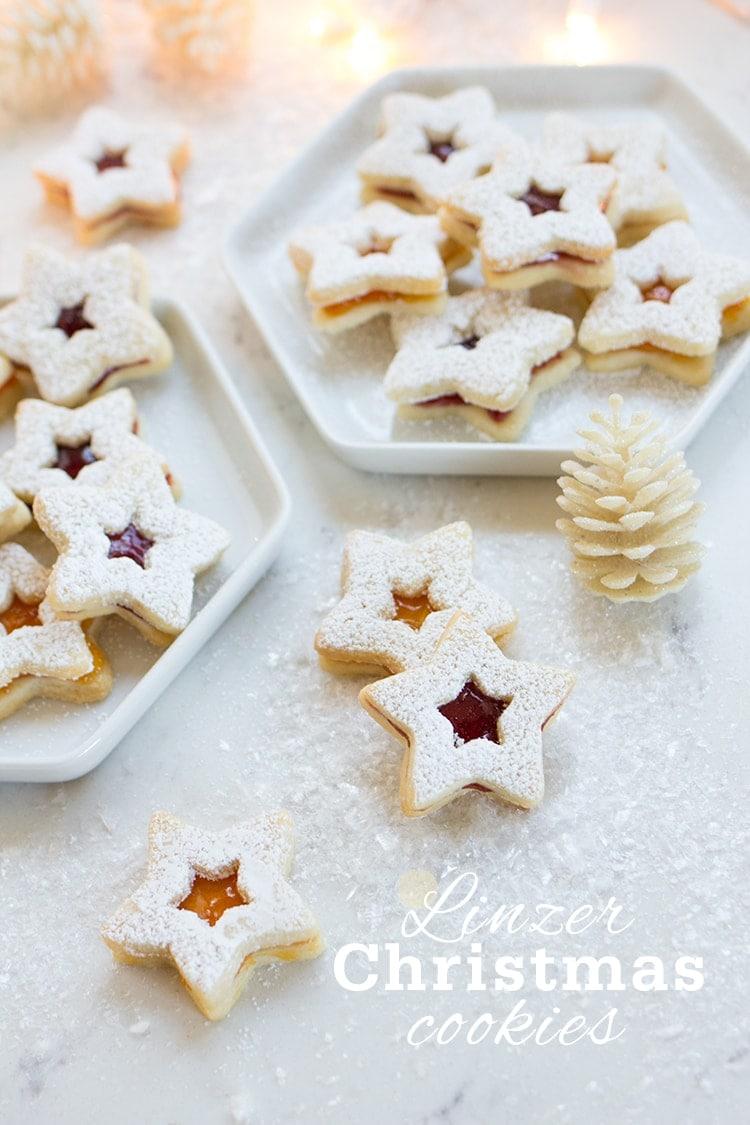 Linzer Christmas Cookies
