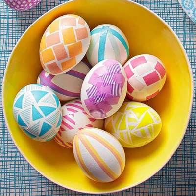 8 egg-cellent ideas for decorating Easter Eggs