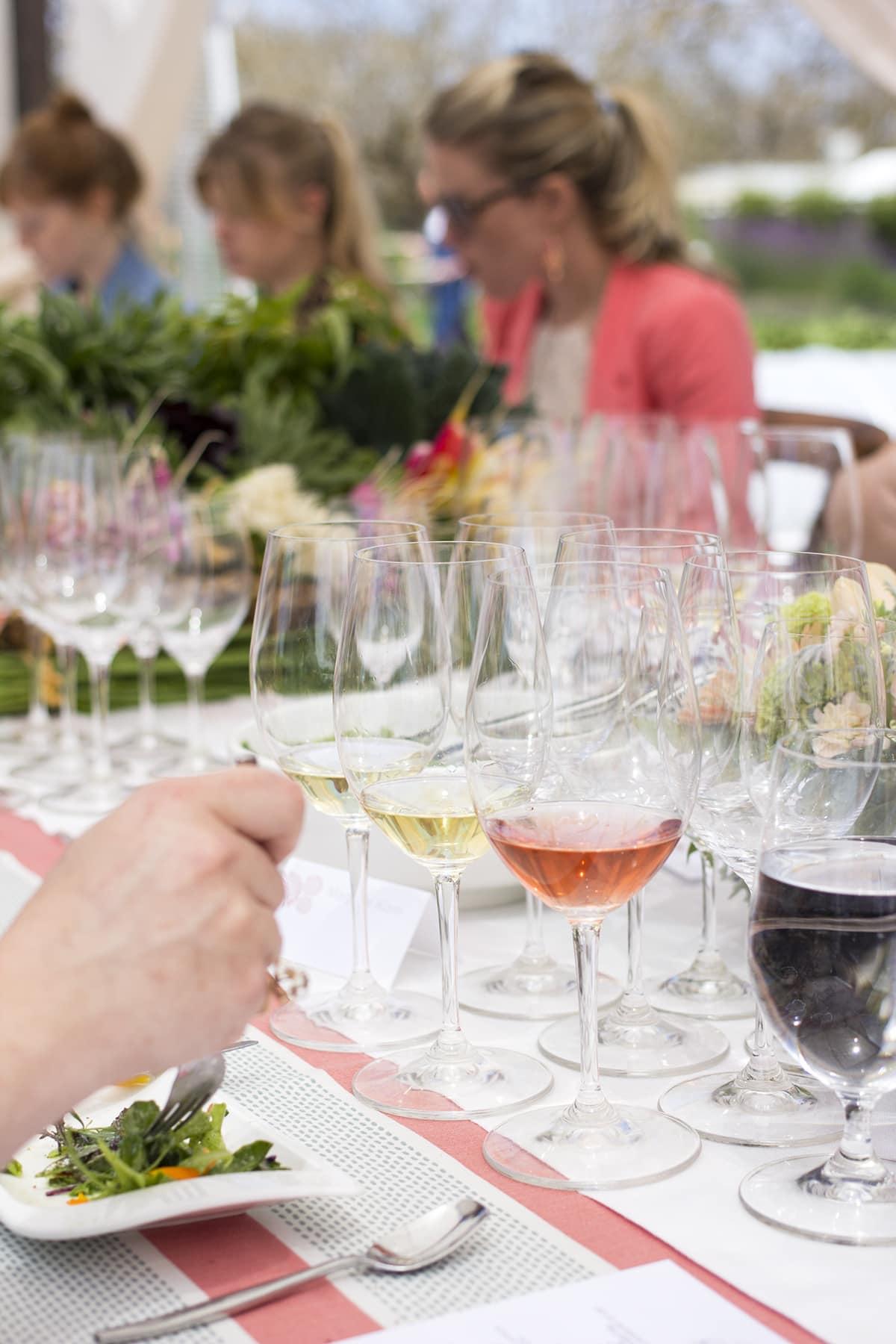 Kendall Jackson Garden Lunch Wine Pairing