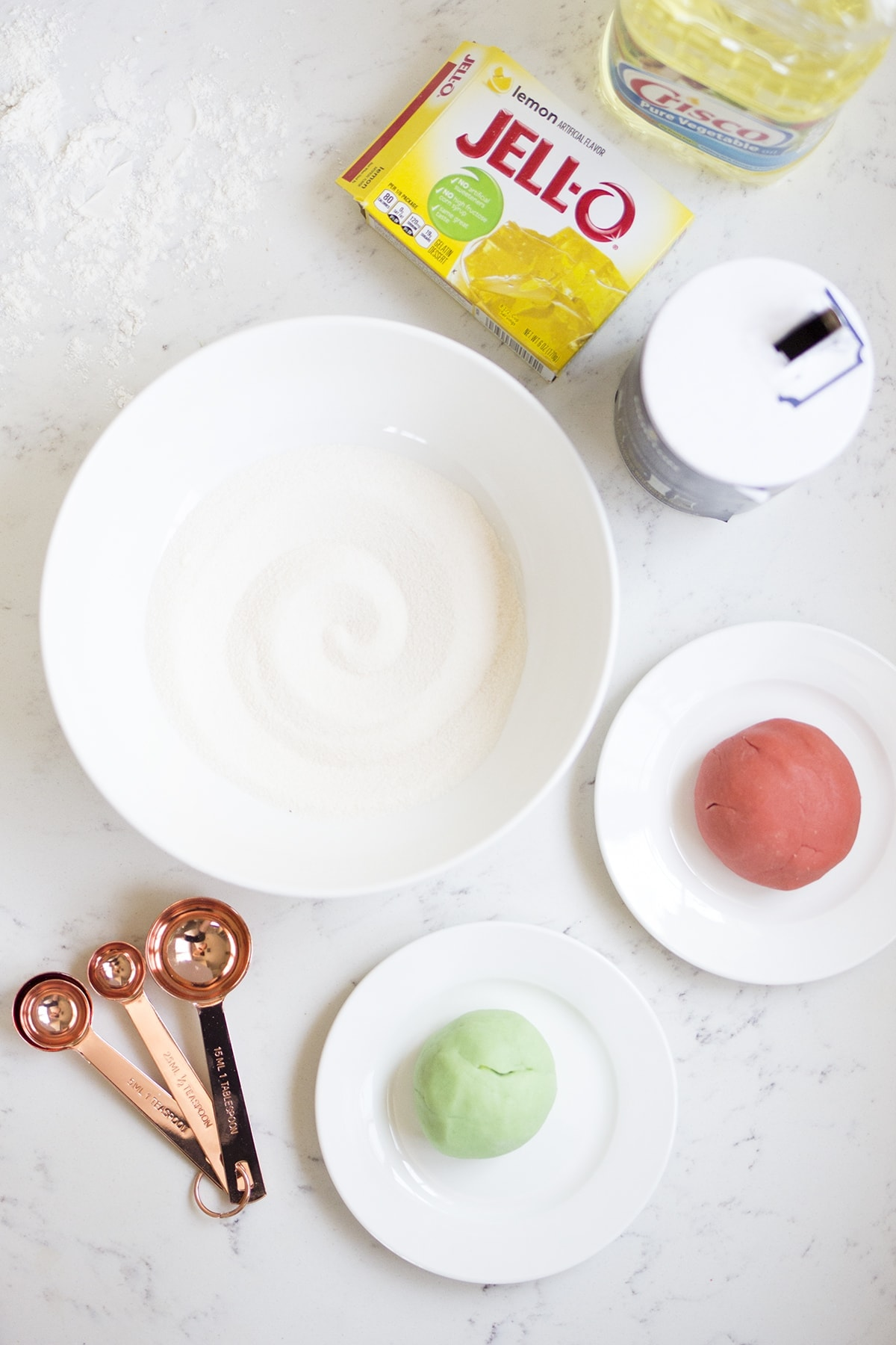 How to Make Homemade Jello Playdough