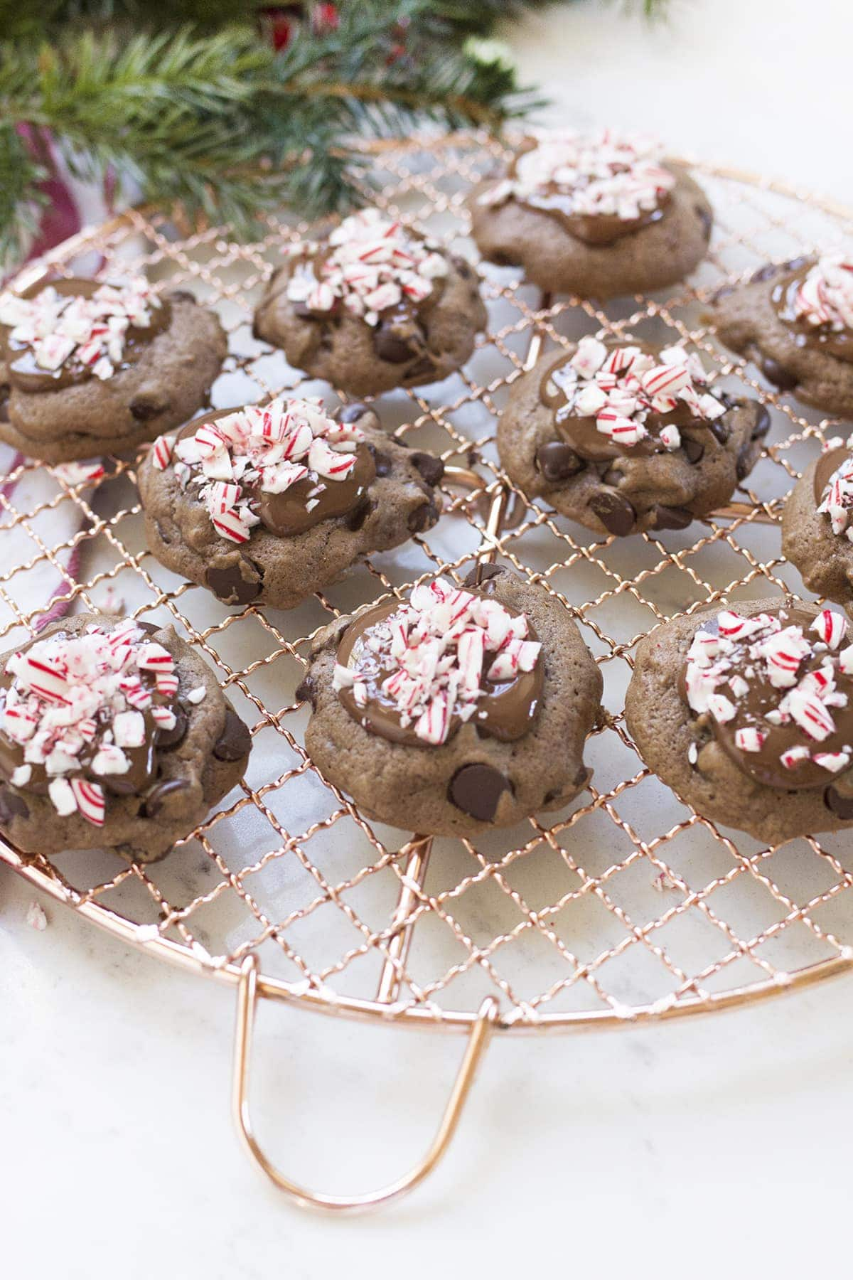 Make It Yours™ Double Chocolate Peppermint Cookies