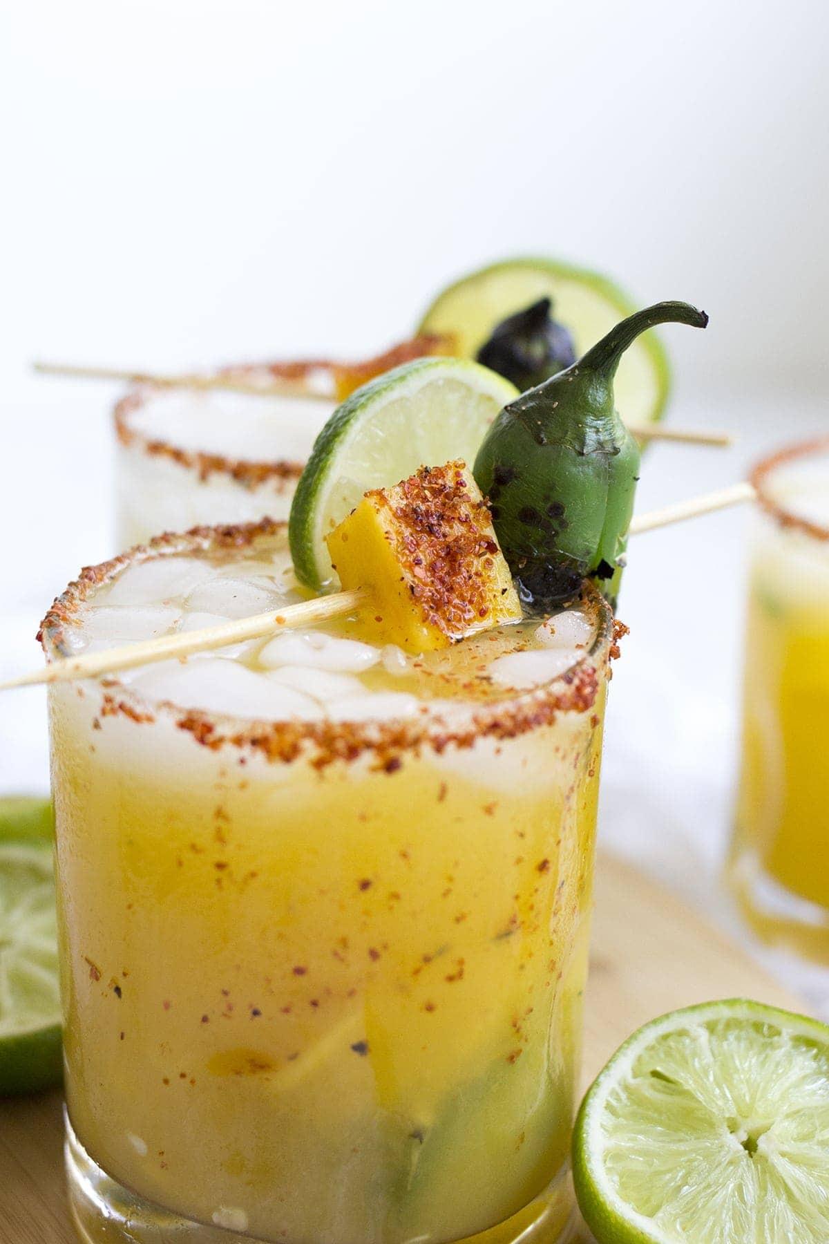 Spicy Mango Jalapeño Margarita - Freutcake