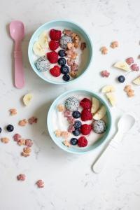 Rainbow Yogurt Bowls + Annie's Homegrown