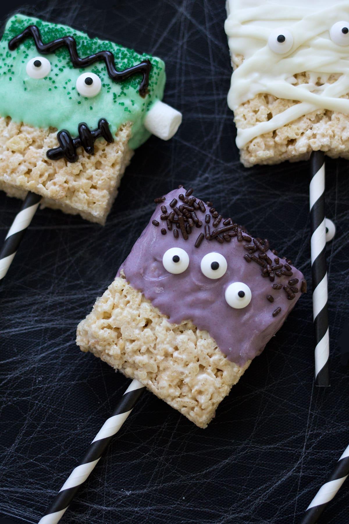 Monster Rice Krispies Treats