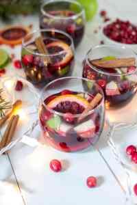 Spiced Holiday Sangria