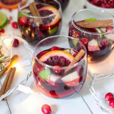 Spiced Holiday Sangria