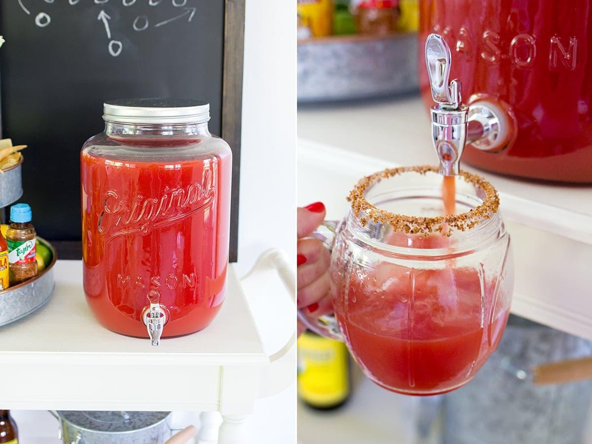 Michelada Bar Tomato Juice Recipe