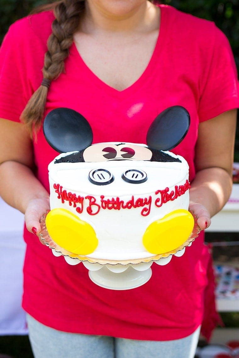 Twin S Mickey Minnie Mouse Themed Birthday Party Freutcake