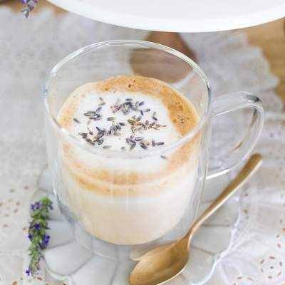 Lavender Honey Latte Recipe + A Mother's Day Gift Idea