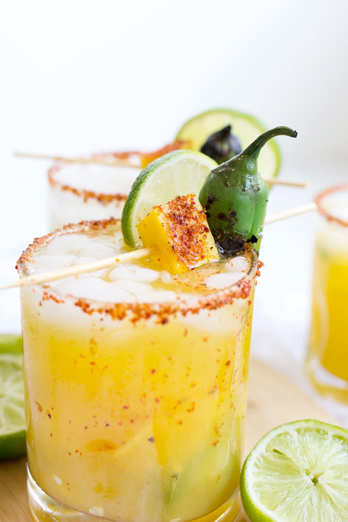 Spicy Mango Jalapeño Margarita