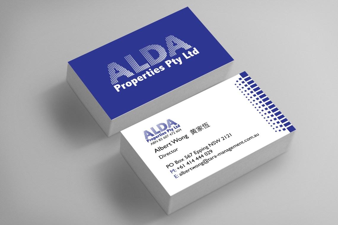 ALDA Business Cards