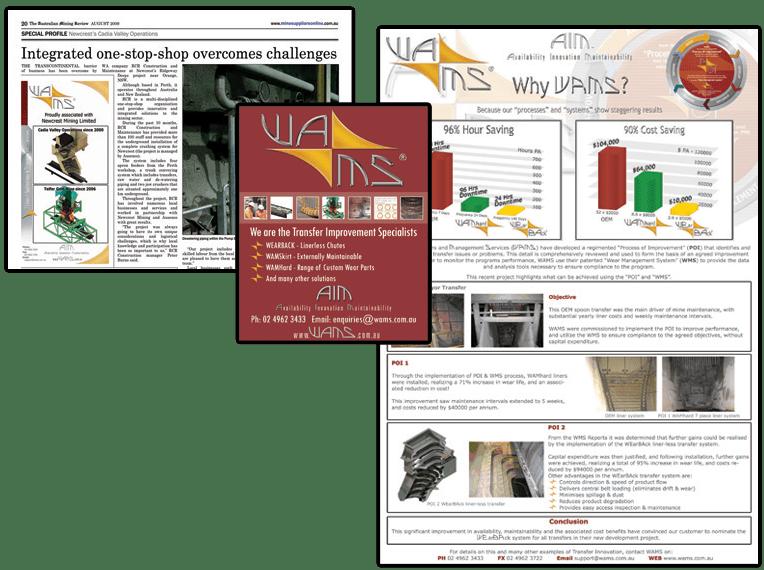 WAMS print design
