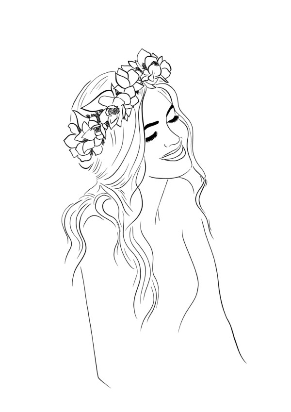 Flower Crown Happiness