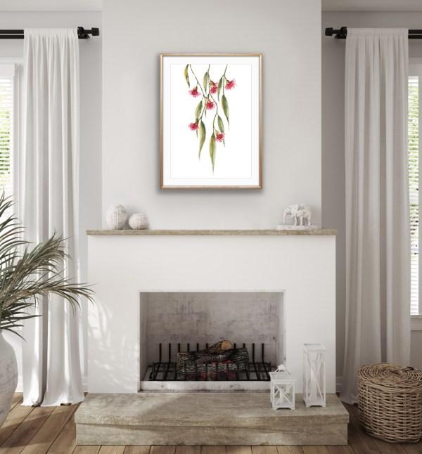 The Eucalyptus Watercolour