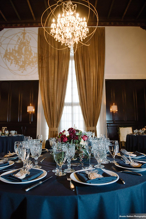 Romantic Burgundy And Navy Ebell Of Long Beach Wedding
