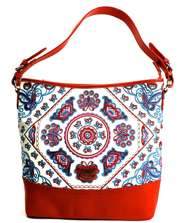 Amazon Embroidered Tote, Fricaine