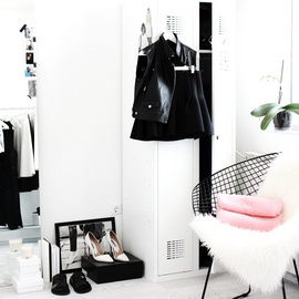 Ivelina Frichic Walk-in Closet