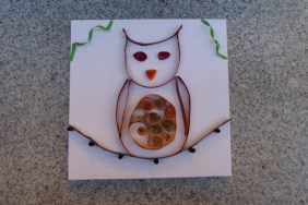 Quilling Eule